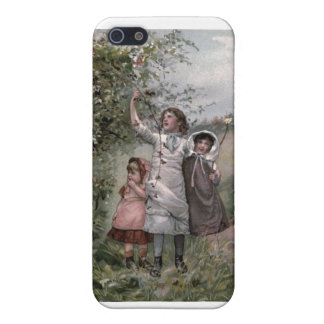 Vintage Victorian & Cute: Blackberry Picking Cover For iPhone SE/5/5s
