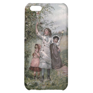 Vintage Victorian & Cute: Blackberry Picking Case For iPhone 5C