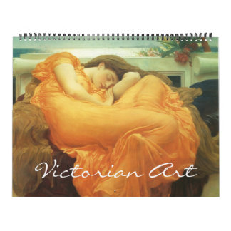 Vintage Victorian Era and Pre-Raphaelite Art Calendar