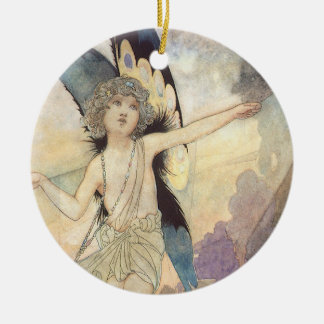 Vintage Victorian Fairy by Charles Robinson, 1911 Christmas Tree Ornaments