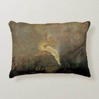 Vintage Victorian Fairy, Midsummer Night, Grimshaw Accent Pillow