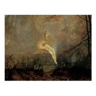 Vintage Victorian Fairy, Midsummer Night, Grimshaw Postcard