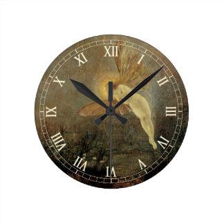 Vintage Victorian Fairy, Midsummer Night, Grimshaw Round Clock