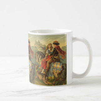 Vintage Victorian Fairy Tale, Brother and Sister Coffee Mug
