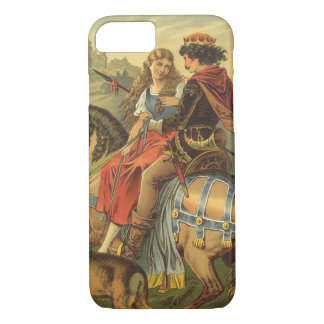 Vintage Victorian Fairy Tale, Brother and Sister iPhone 8/7 Case