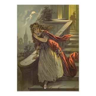 "Vintage Victorian Fairy Tale, Cinderella 5"" X 7"" Invitation Card"
