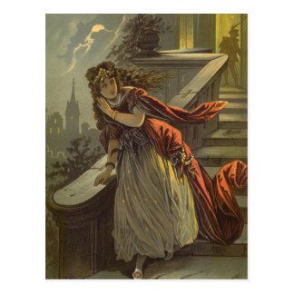 Vintage Victorian Fairy Tale, Cinderella Postcard