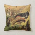 Vintage Victorian Fairy Tale, Puss in Boots Pillow