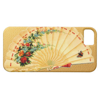 Vintage Victorian Fan Scrap Art Hot Flash Gag Gift iPhone SE/5/5s Case