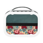 Vintage Victorian Flowers Yubo Lunch Boxes