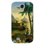 Vintage Victorian Folk Art, Noah's Ark by Hidley Galaxy S4 Cover