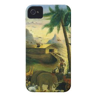 Vintage Victorian Folk Art, Noah's Ark by Hidley iPhone 4 Case