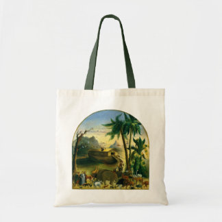 Vintage Victorian Folk Art, Noah's Ark by Hidley Tote Bag