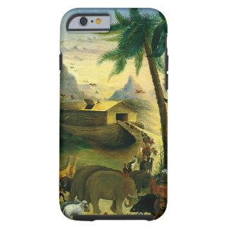 Vintage Victorian Folk Art, Noah's Ark by Hidley Tough iPhone 6 Case