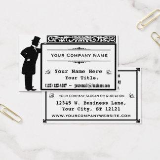 Vintage Victorian Gentleman Classic Business Card