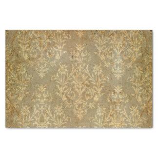 Vintage, victorian, grunge, damasco, antigüedad, papel de seda pequeño