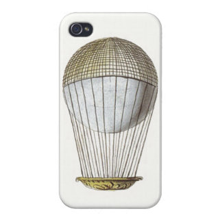 Vintage Victorian Hot Air Balloon Covers For iPhone 4