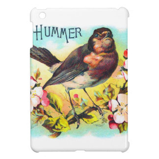 Vintage Victorian Hummer Bird Illustration Cover For The iPad Mini