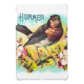 Vintage Victorian Hummer Bird Illustration iPad Mini Cases