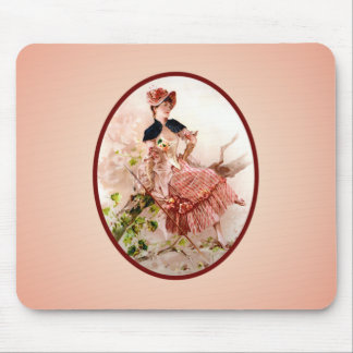 Vintage Victorian Lady Mousepad