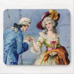 Vintage Victorian Lady'sTrue Love Mousepad