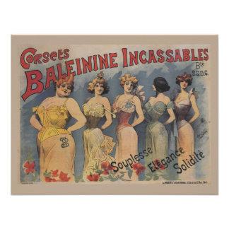 Vintage Victorian Lingerie Wedding Shower Personalized Invitation