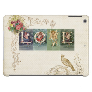 Vintage Victorian Love iPad Air Cover