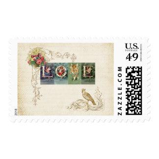 Vintage Victorian Love Postage