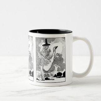 Vintage Victorian Mother Goose by Charles Robinson Coffee Mugs