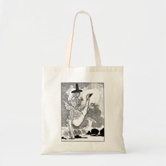Vintage Victorian Mother Goose by Charles Robinson Tote Bag