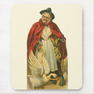 Vintage Victorian Mother Goose Story Book Mouse Pad