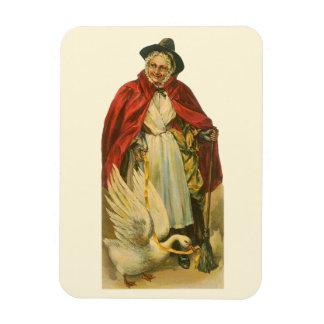 Vintage Victorian Mother Goose Story Book Rectangular Magnet