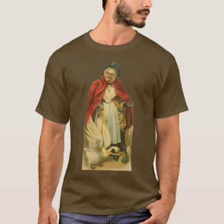 Vintage Victorian Mother Goose Story Book T-Shirt