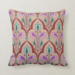 Vintage Victorian Pillow Throw