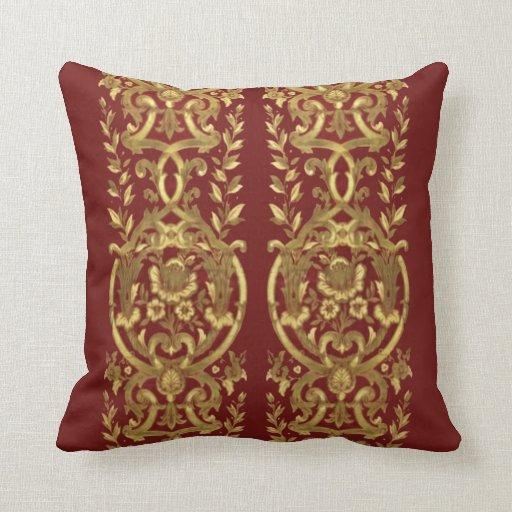 Vintage Victorian Pillow Throw Zazzle