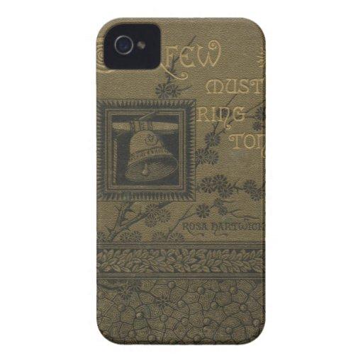 Poetry Book Cover Printable ~ Vintage victorian poetry book cover print iphone case