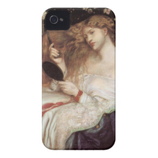 Vintage Victorian Portait, Lady Lilith by Rossetti iPhone 4 Cover