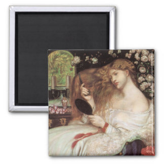 Vintage Victorian Portait, Lady Lilith by Rossetti Magnet