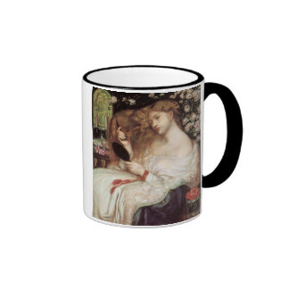 Vintage Victorian Portait, Lady Lilith by Rossetti Ringer Coffee Mug
