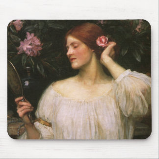 Vintage Victorian Portrait, Vanity by Waterhouse Mouse Pad