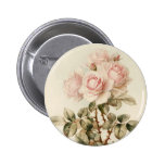 Vintage Victorian Romantic Roses Buttons