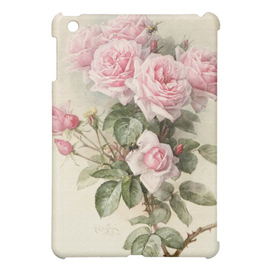 Vintage Victorian Romantic Roses iPad Mini Cases