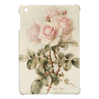 Vintage Victorian Romantic Roses iPad Mini Covers