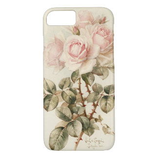 Vintage Victorian Romantic Roses iPhone 8/7 Case