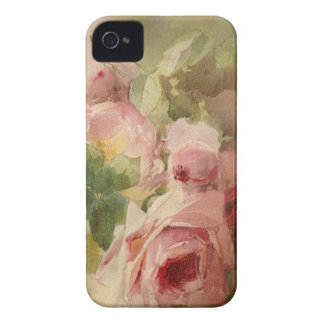 Vintage Victorian Rose Watercolor Case-Mate iPhone 4 Case