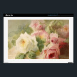 "Vintage Victorian Rose Watercolor Skin For 17&quot; Laptop<br><div class=""desc"">This is an absolutely amazing Watercolor of a bouquet of roses from the Victorian era.  It is truly one of the most feminine,  shabby chic,  and delicate vintage images I have found.  A perfect choice for someone who is very feminine,  classy,  loves pink,  and flowers (roses).</div>"