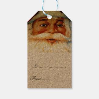 vintage,victorian,rustic,christmas,pattern, santa gift tags