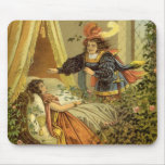 Vintage Victorian Sleeping Beauty Fairy Tale Mousepad