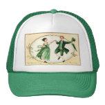 Vintage Victorian St. Patrick's Day Cap Trucker Hat