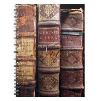 Vintage Victorian Steampunk Old Books Notebook
